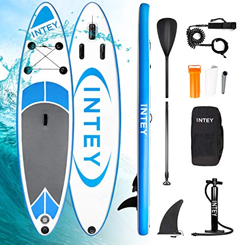 INTEY Tabla Paddle Surf Hinchable 305×76×15cm, Sup Paddle...