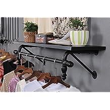 Percheros Tienda de ropa Pantallas Racks de ropa Tienda de ropa para niños Estantes de pared percheros burro ( Tamaño : 80cm )