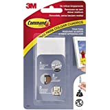 Command 17206 - Pack de 4 tiras para cuadros grandes color blanco