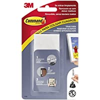 Command 17206 - Pack de 8 tiras para cuadros (grandes, hasta 7,2 kg), color blanco