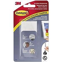 Command 17206 - Pack de 4 tiras para cuadros grandes, color blanco, talla L