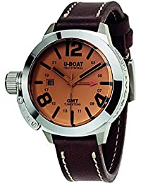 U-Boat Men's Analogue Automatic Watch with Leather Strap U8051