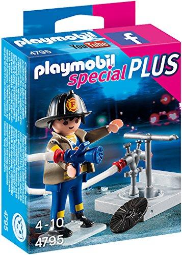 Playmobil 4795 - Feuerwehrmann mit Hydrant