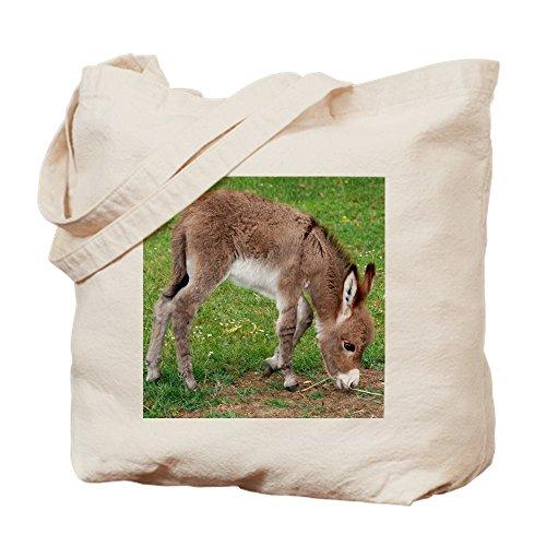 CafePress–Neugeborene Esel Fohlen Tasche–Leinwand Natur Tasche, Reinigungstuch Einkaufstasche (Maultiere Leinwand)