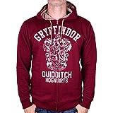 sweatshirt officiel maison harry potter Gryffondor rouge 100% cotton (XL)