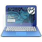 Bruni Schutzfolie für HP Stream 13 Folie - 2 x glasklare Displayschutzfolie