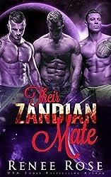 Their Zandian Mate: An Alien Warrior Reverse Harem Romance (Zandian Brides Book 1)