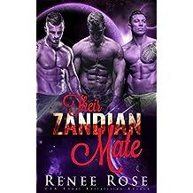 Their Zandian Mate: An Alien Warrior Reverse Harem Romance (Zandian Brides Book 1) (English Edition)