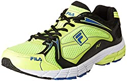 Fila Mens Fly Lime, Black and Royal Running Shoes -6 UK/India (40 EU)