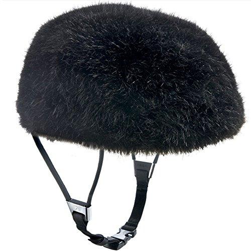 Yakkay Luzern Housse pour casque de vélo Noir Taille L 57-59 cm