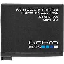 GoPro AHDBT-401 - Batería recargable para HERO4, color negro