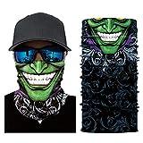 Teaio Gesichtsmaske Winddicht Bedrucktes Multifunktionstuch Bandana Halstuch Kopftuch Motorrad Fahrrad Maske für Radfahren, Wandern, Camping, Klettern, Angeln, Jagd, Jogging, Motorrad