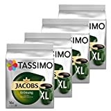 Tassimo Jacobs Krönung XL Kaffee Arabica Kaffeekapsel gemahlener Röstkaffee 4er Pack 4 x 16 T-Discs