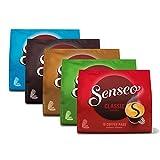 Senseo Kaffeepads Klassisch Set, neues Design, 5 verschiedene Sorten, 5 x 16 Pads