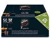 Caffè Vergnano 1882 Èspresso Capsule Caffè Compatibili Nespresso, Lungo Intenso  - Pack da 50 capsule