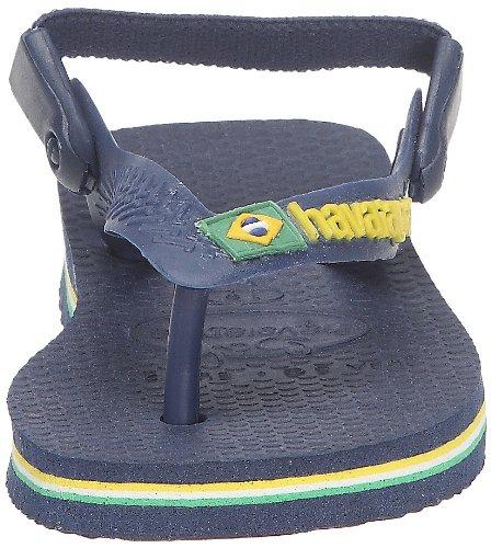 Havaianas Baby Brasil Logo, Tongs bébé fille Jaune