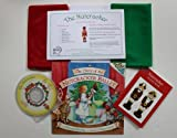 *Sale* Childrens Christmas/Nutcracker Play Scarf Activity Kit (Includes Fun Filled Activity Book, Nutcracker Cd And Story Book, Candy Cane Shaped Pencil And Activity Scarves)