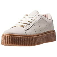 The Womens Creeper from CARDOUNO combines a Synthetic upper with a durable Rubber sole. These Trainers feature Lace-up fastening, cushioned insole and Synthetic lining. Finished with CARDOUNO branding, the style P38-30BEIGE comes in a Beige colourway...