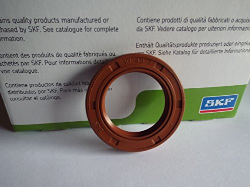 30x 45x 7mm Doppel Lip Oil Seal SKF Viton R23/TC Viton Gummi Edelstahl Strumpfband Spring -