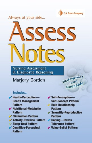 Assess Notes Assessment and Diagnostic Reasoning: Assessment and ...