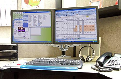 Ergotron support de bureau pour deux écrans u euphoria mall