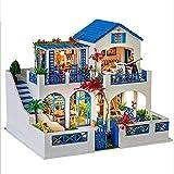LF Casa delle Bambole Modello di casa DIY Assemblaggio Giocattoli 3D Villa San Valentino Regalo di Compleanno