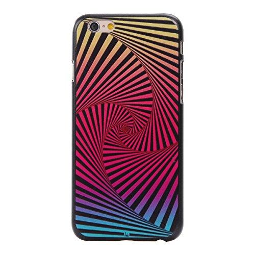 MOONCASE iPhone 6 Plus / 6S Plus Coque, Slim Fit Hardshell Back Coque Etui Case Cover pour iPhone 6 Plus / 6S Plus [météore] Colorful
