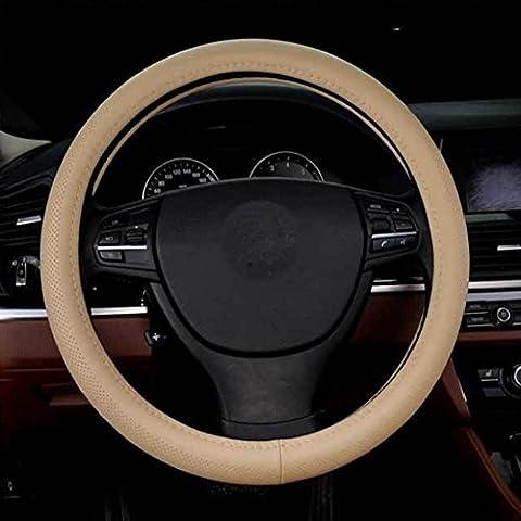 PENG Cuir cousu main couvercle volant Audi A4 ????? Sagitar Camry Poignées , 2