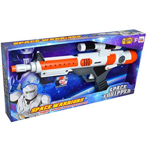 Preisvergleich Produktbild Blinkende Echt Leuchten und Sound Action Platz Shots Armee Spielzeug Gewehr Pistole mit Tactical Scope