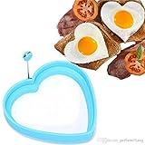 #9: Navisha 1Pc Egg Shaper Silicone Fried Oven Poacher Pancake Egg Ring Mold Mould Kitchen Gadget Cooking Tool Randomly Colour