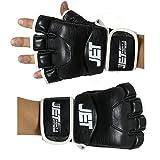 Jet fight & fitness MMA Handschuhe. Echtes Rindsleder aus Handverarbeitung. Trainiere Wie Ein Champion mit unserem kostenlosen Ebook. Die Boxhandschuhe Sind für Sparring, Grappling, Boxen ideal.
