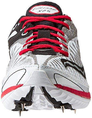 Saucony, Scarpe da atletica leggera uomo multicolore US Bianco / Nero / Rosso