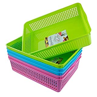 Anbers Storage Baskets/ Tray Baskets, Set of 6