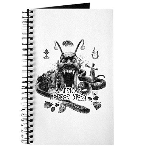 ican Horror Story Landschaft–Spiralbindung Notizbuch, persönliches Tagebuch, Dot Grid (Halloween Papier Waren)