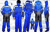 Moderei Auswahl an Schneeanzug | Schneeoverall Skianzug | Skioverall Snowboard Unisex | Jungen | Mädchen | Herren | Damen Schneeanzug Hauptfarbe-Blau (170) …