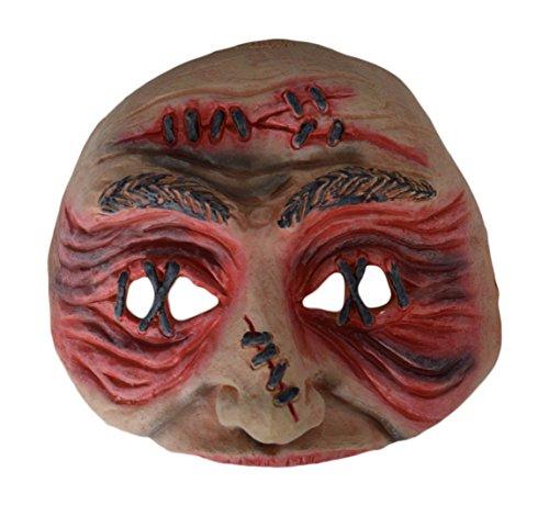 Erwachsene Chinless Maske Stitched Up