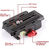 #9: Magideal P200 Quick Release QR Plate for Manfrotto 501 500AH 701HDV 503HDV 7M1W 577