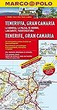 MARCO POLO Karte Teneriffa, Gran Canaria 1:150 000: La Gomera, La Palma, El Hierro, Lanzarote, Fuerteventura (MARCO POLO Karten 1:200.000) - aa vv