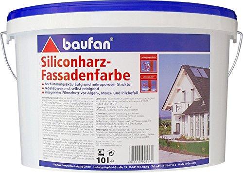 Siliconharz-Fassadenfarbe Baufan