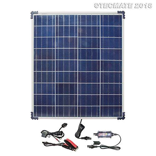 OPTIMATE SOLAR TM523-8 80W, TM523-6, 12 V Lade-und Überwachungssystem, die clevere 24-7-Batteriepflegelösung mit der Kraft der Sonne, Solar Panel