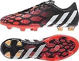 adidas Predator Instinct F Herren Sneakers, Schwarz/Weiß/Rot - Größe: 40 2/3 EU