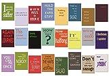 tom bäcker Postkarten Set/Mix - 24 Karten - Nr 1 - ADVENTSKALENDER - Engleutsch for Oncatcher Denglisch - Das Original Wie Abgebildet - Denglish - Sprüche Englisch