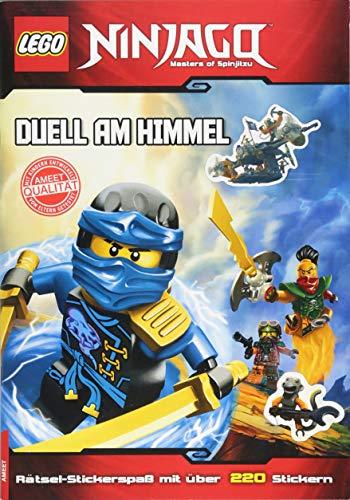 LEGO® NINJAGOTM Duell am Himmel: Rätsel-Stickerspaß mit über 220 Stickern
