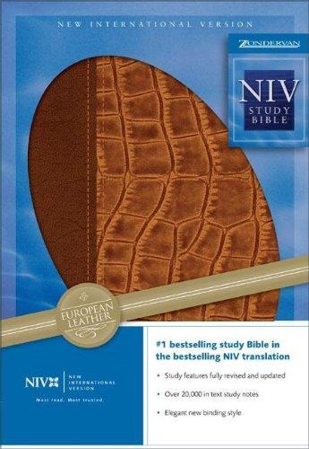 Zondervan Study Bible-NIV (New International Version)