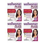 4 x Vitabiotics Wellwoman Plus Omega 3, 6 & 9 56 Tablets/Capsules by Wellwoman