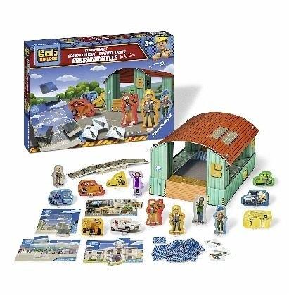 Ravensburger-21311-Bob-the-Builder-Grobaustelle-fr-Bobs-Team-Kinderspiel Ravensburger  21311  – Bob the Builder Großbaustelle für Bobs Team Kinderspiel -