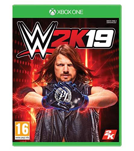 WWE 2K19 with Collectible SteelBook (Exclusive to Amazon.co.uk) - Xbox One [Edizione: Regno Unito]