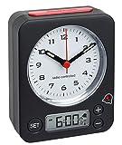 TFA Dostnmann Funkwecker Combo 60.1511 mit analoger Uhrzeit und...