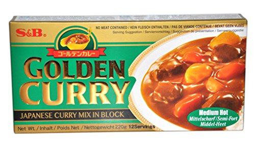 S&B Golden Curry Mittelscharf - 220 gm