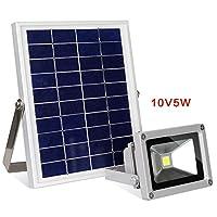 QQA Solar floodlight 5W high-power solar garden corridor floodlight lamp, 5w lamp